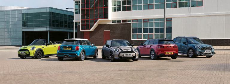 mini range – mini model range – the mini family