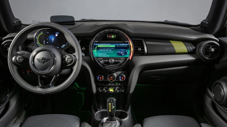 MINI Electric interior