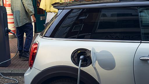 MINI Electric charging points