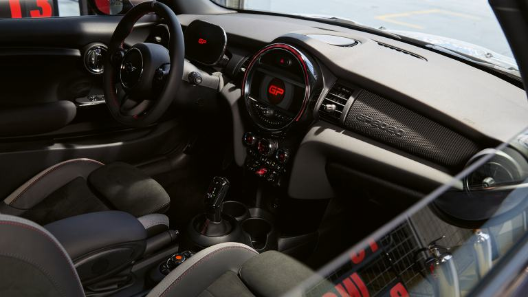 MINI John Cooper Works GP - cockpit - instrument cluster